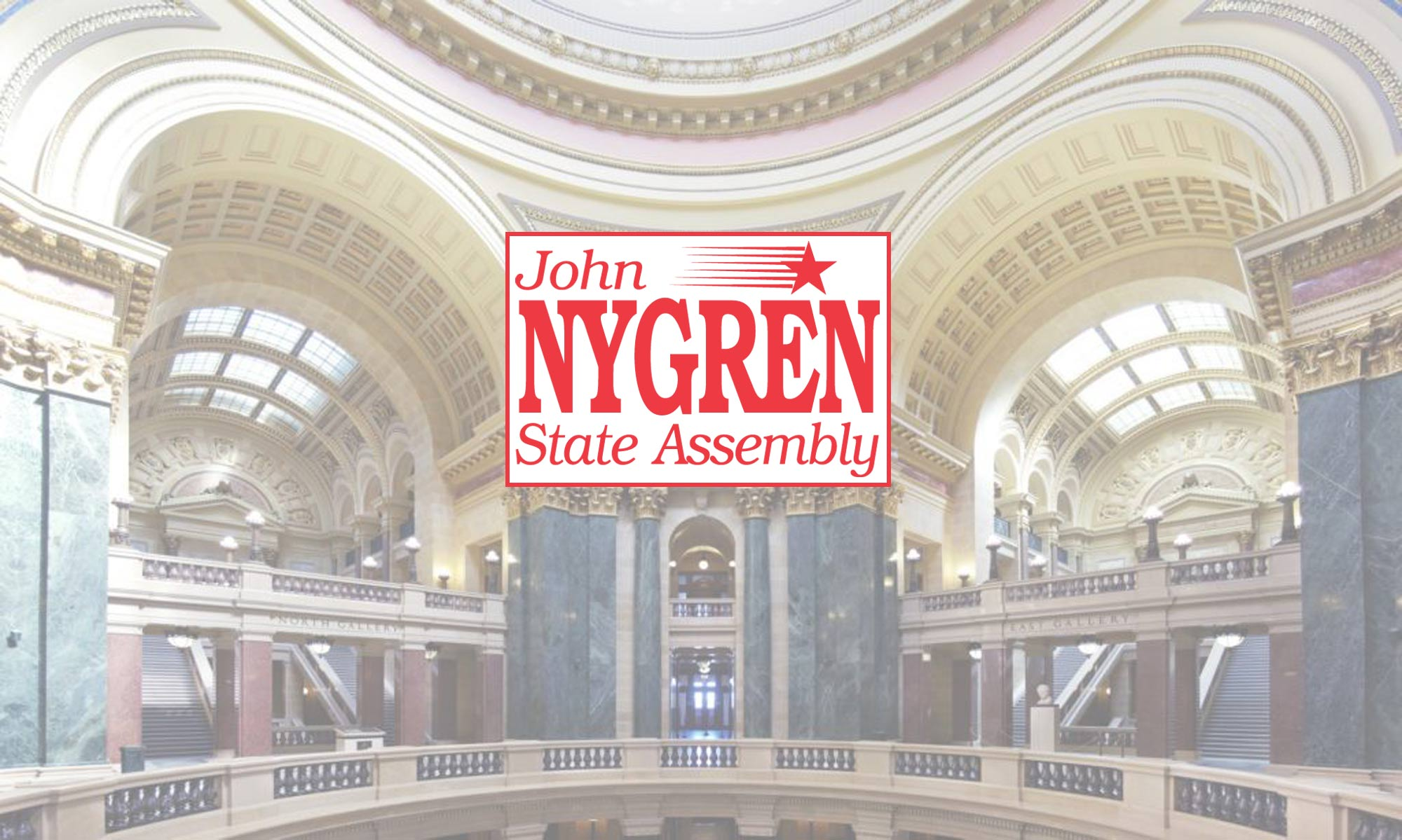 Donate To John Nygren | 89th assembly district